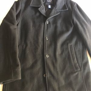 GAP Jackets & Coats - GAP black Peacoat.